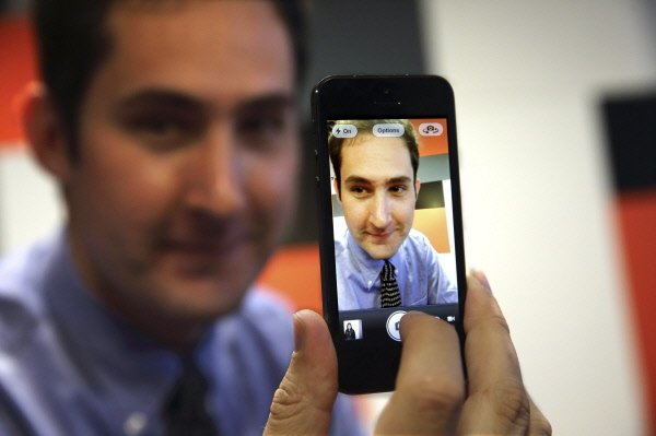 Le patron d'Instagram, Kevin Systrom...