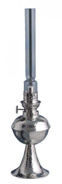 Lampe à l'huile d'Antoine Chaudron, potier d'étain (stand 1025) ()