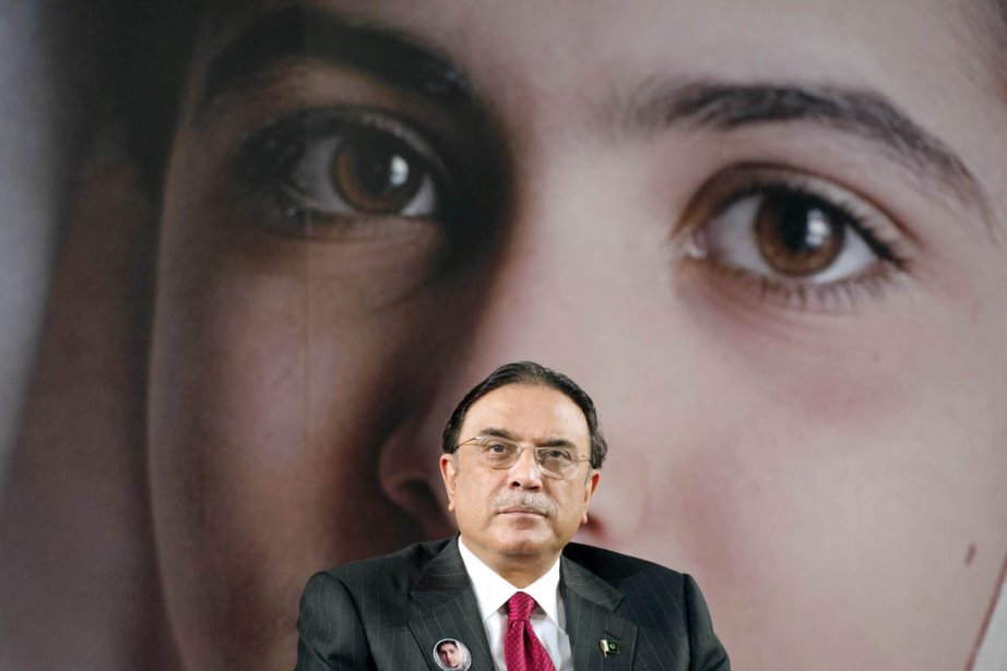 «Une jeune fille déterminée de mon pays a... (PHOTO BERTRAND LANGLOIS, AFP)