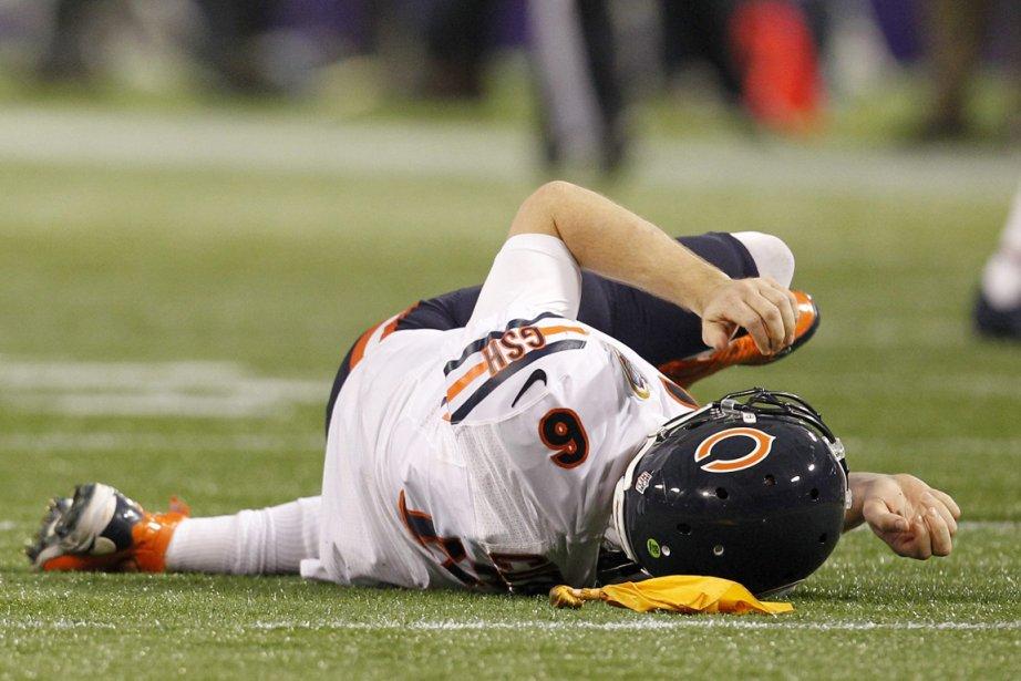 Jay Cutler a quitté la rencontre en raison... (Photo: AP)