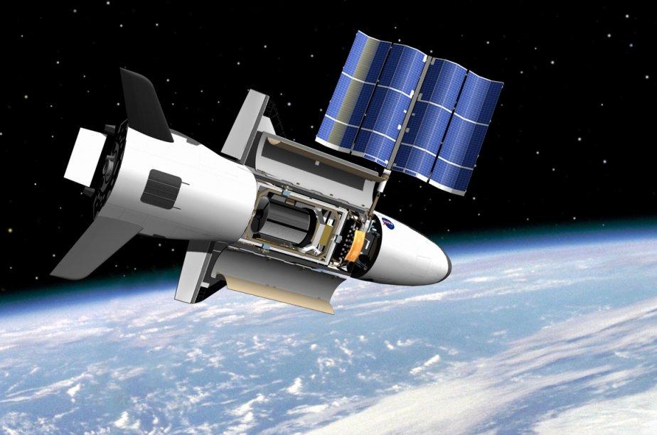 L'avion nommé X-37B a été lancé depuis Cap... (Image AFP)