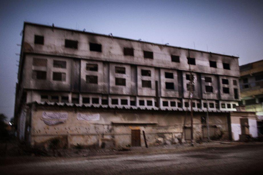 Le site de l'incendie dévastateur qui emporta la vie de... | 2012-12-11 00:00:00.000