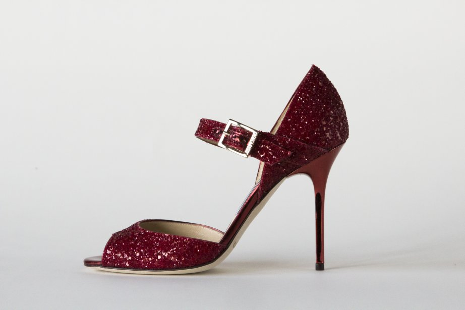 Paillettes rouges, Jimmy Choo, 575 $ ()