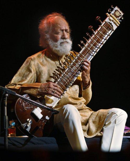 Ravi Shankar lors d'un concert en février 2012. | 12 décembre 2012