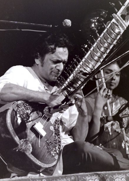 Ravi Shankar au festival de Woodstock en août 1969. (Photo: AP)