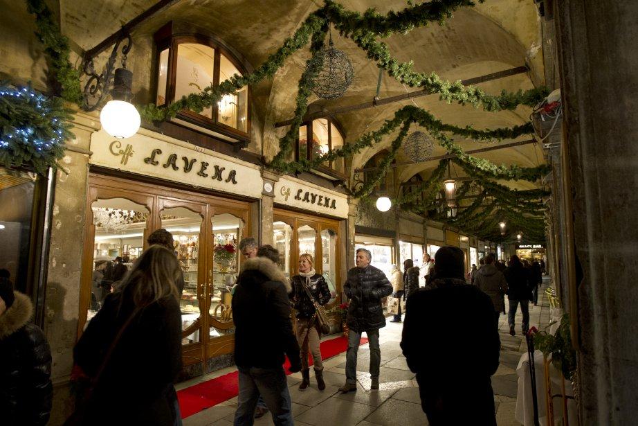 Près de la place Saint-Marc, les trattorie exposent leurs tentations en vitrine | 14 décembre 2012