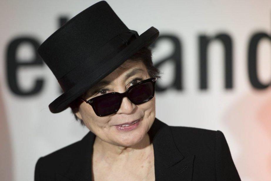 Yoko Ono à Berlin.... (Photo: AFP)