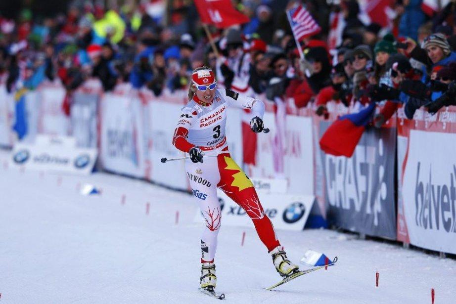 La Canadienne Chandra Crawford a terminé au sixième... (PHOTO TODD KOROL, REUTERS)