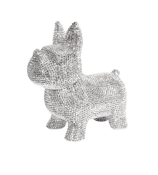 Tirelire recouverte de strass, faite à la main, 69,99 $ chez Clair de Lune, dans tous leurs magasins Clairdelune.ca | 16 décembre 2012