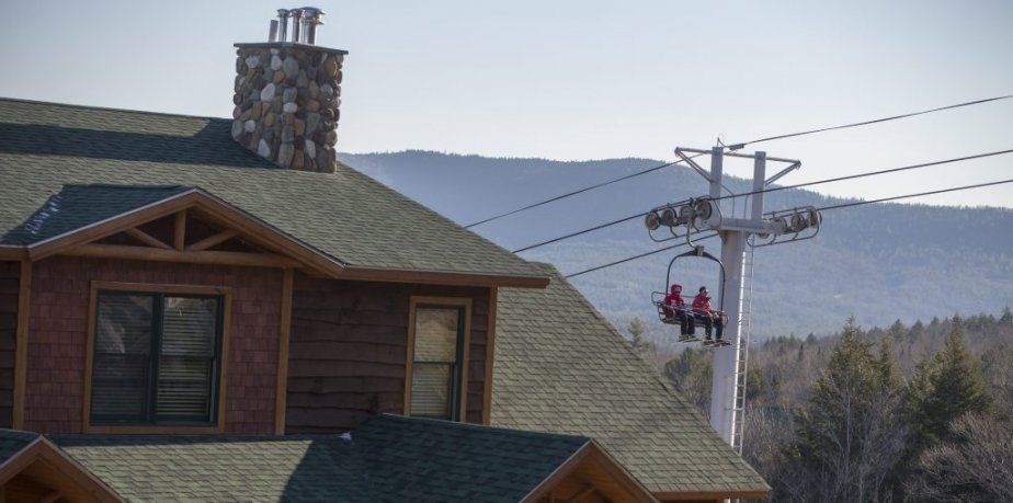 Les condos Tempest Ridge. (Ivanoh Demers, La Presse)
