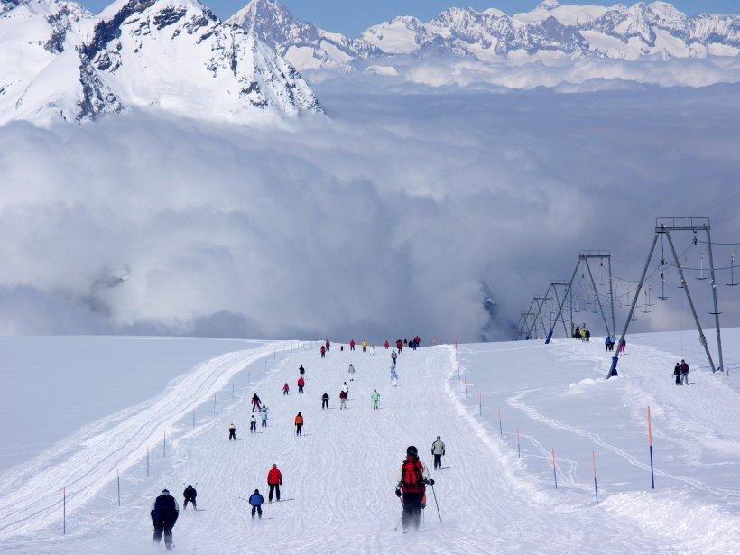 À Zermatt, en Suisse, les voitures sont interdites. | 17 décembre 2012