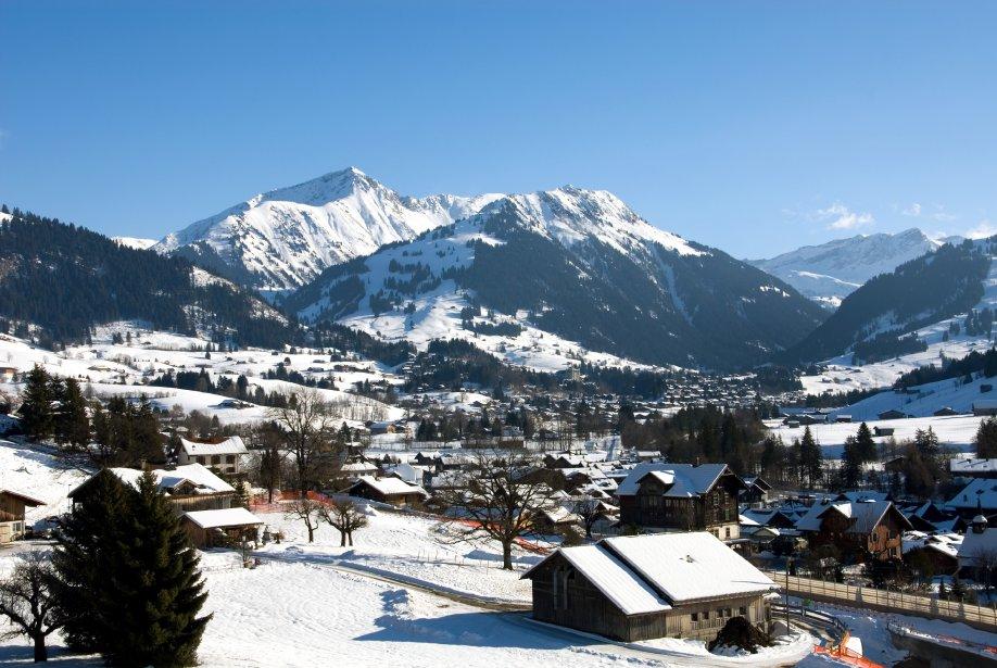 À Gstaad, les touristes pourront profiter de pistes de qualités, à l'abri de la foule. | 17 décembre 2012