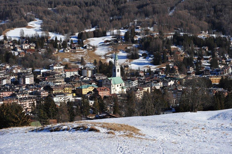 Le gratin italien se retrouve à Cortina d'Ampezzo, en Italie. | 17 décembre 2012