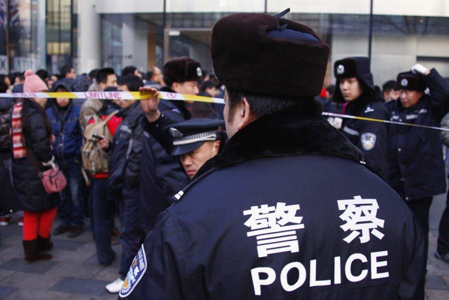 La police chinoise a procédé à l'arrestation de... (PHOTO DAVID GRAY, ARCHIVES REUTERS)
