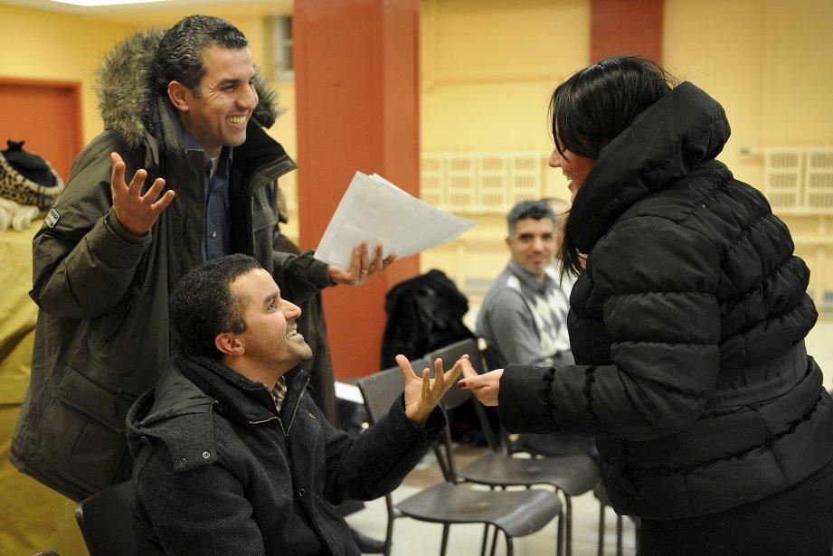 Le projet d'une mosquée, rue Marie-de-l'Incarnation à Québec, a suscité de l'opposition, mais aussi des échanges cordiaux. | 18 décembre 2012