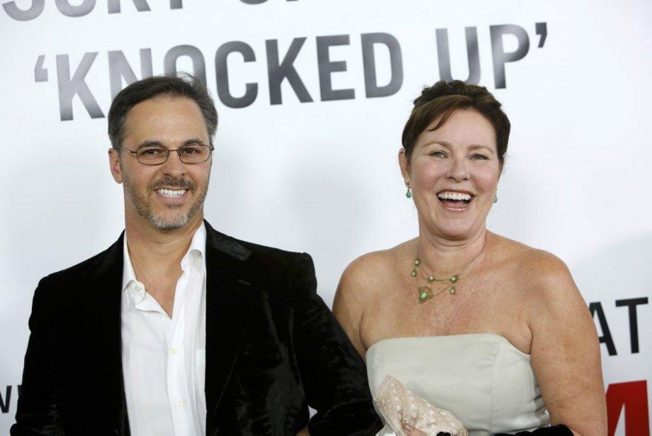 Lisa Darr et son mari Brian Valente | 18 décembre 2012