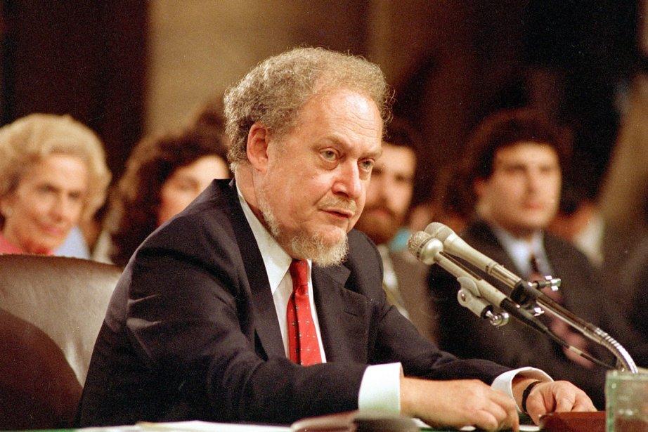 La nomination de Robert Bork à la Cour... (PHOTO CHARLES TASNADI, ARCHIVES AP)