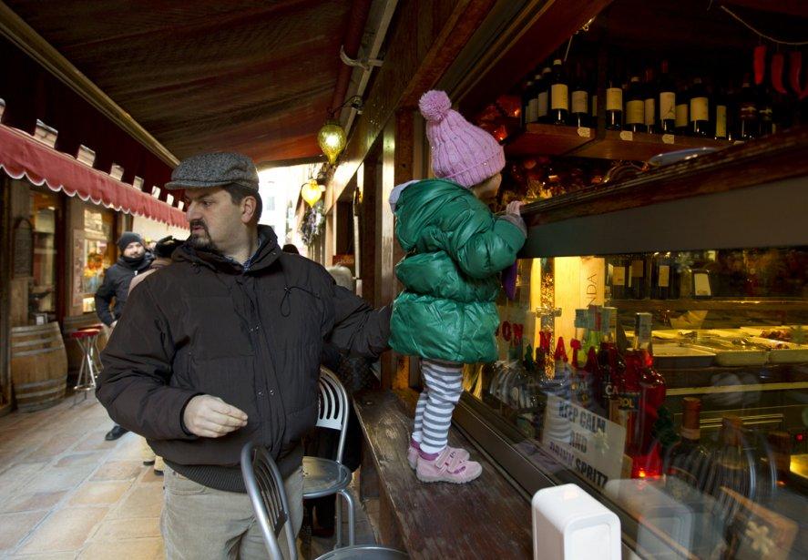 En Vénétie, même les petits s'intéressent apparemment au vin. | 19 décembre 2012