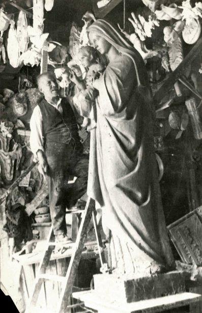 Paolo Petrucci est le père d'Aimé et et de Nicolas. Il trouvait que c'était trop froid à Montréal et il est retourné en Italie. (Photo: tirée du livre Petrucci, de 1790 à 2012 (Éditions Collectophile)