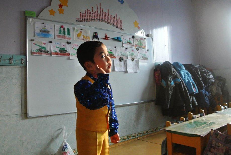 Cours de chant pour ce petit garçon | 19 décembre 2012