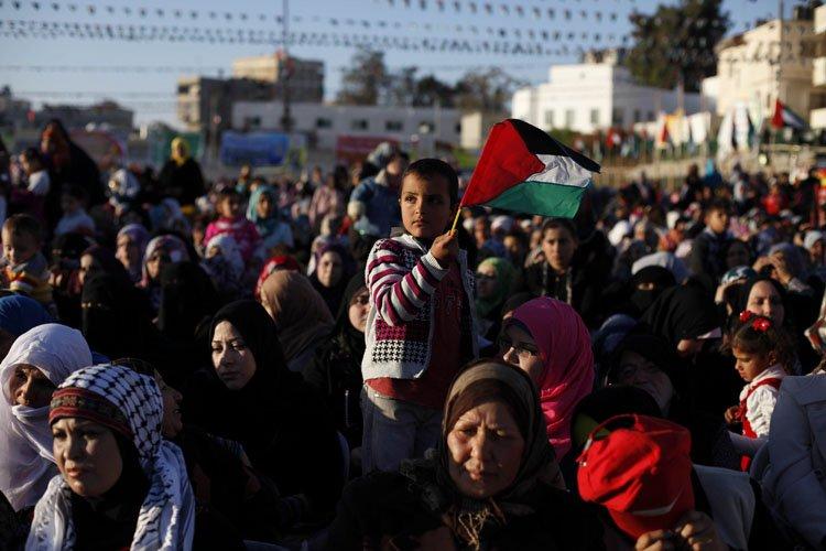 Le sort des réfugiés palestiniens constitue l'un des... (Photo: Reuters)