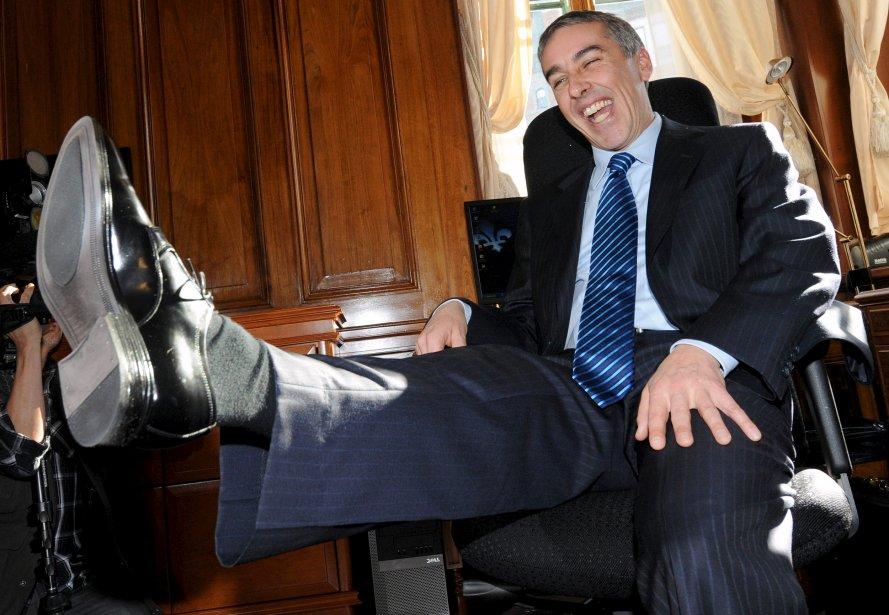 Le ministre des Finances, Nicolas Marceau, la veille de la présentation de son premier budget | 20 décembre 2012