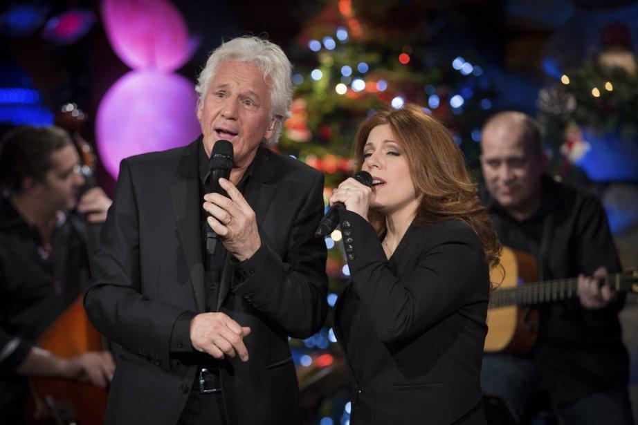 Isabelle Boulay et Gérard Lenorman, un des nombreux duos de l'émission. | 21 décembre 2012