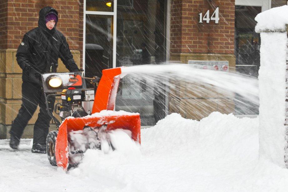 Ottawa-Gatineau a reçu sa première tempête de neige de la saison. (Patrick Woodbury, LeDroit)