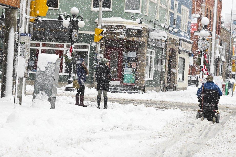Ottawa-Gatineau a reçu sa première tempête de neige de la saison. (Patrick Woodbury, Archives LeDroit)