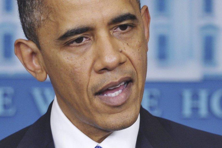Le président américain Barack Obama... (Photo Mandel Ngan, Agence France-Presse)