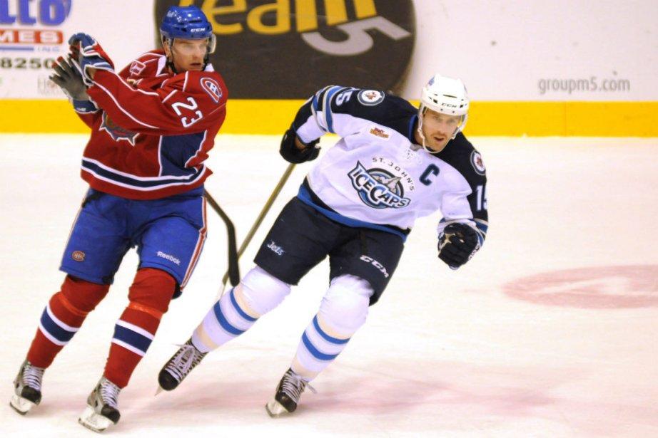 Joonas Nattinen et Jason Jaffray.... (Photo La Presse Canadienne)