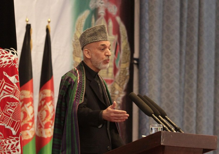 Le président afghan Hamid Karzai.... (Photo : Ahamd Jamshid, AP)