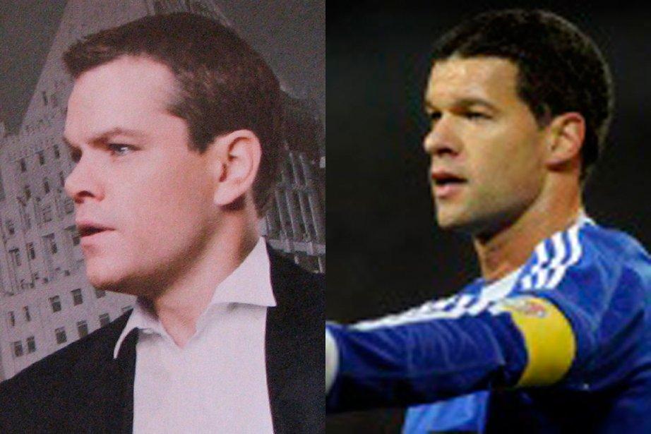 Matt Damon a déjà interprété un joueur de rugby au cinéma dans Invictus de Clint Eastwood. Serait-il tenté d'incarner un joueur de soccer si on racontait la vie du réputé joueur allemand Michael Ballack? Une chose est sûre, aucun maquillage nécessaire. (Médaillés d'or - Suggestion de cinq lecteurs)