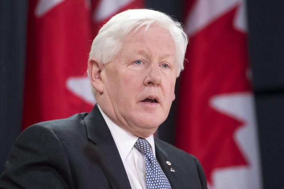 Le chef intérimaire du Parti libéral du Canada,... (PHOTO ADRIAN WYLD, ARCHIVES LA PRESSE CANADIENNE)