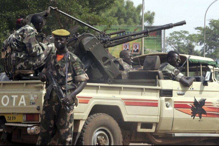Les forces armées centrafricaines ont... (PHOTO ISSOUF SANOGO, ARCHIVES AFP)