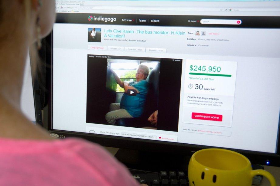 Le site Indiegogo est une plateforme où les... (Photo Karen Bleier, archives AFP)