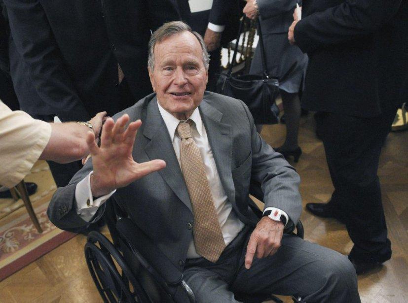 L'ancien président des États-Unis, George H.W. Bush.... (Photo: Reuters)