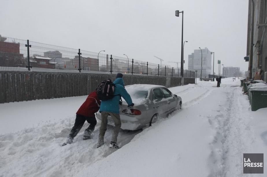 Les météorologues signalent que le sol moins froid... (Photo Martin Chamberland, archives La Presse)