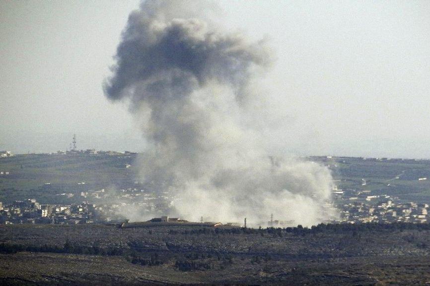 Des missiles ont été lancés par l'armée de... (Photo Reuters)