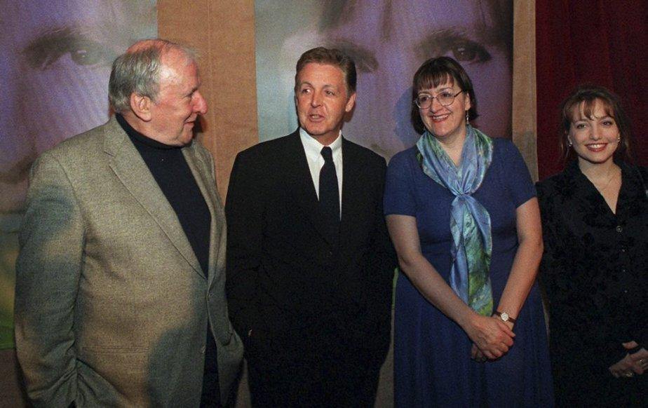 Sur cette photo prise en 2000, Richard Rodney... (PHOTO STEPHEN CHERNIN, Associated Press)
