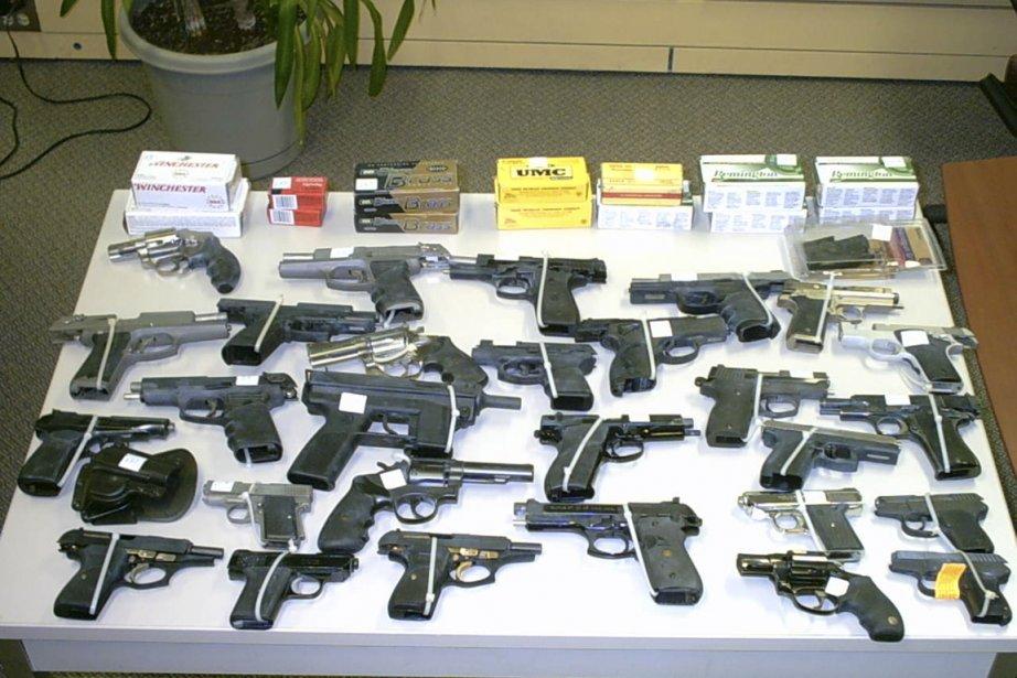 À peine 0,2% des armes ont été saisies... (PHOTO ARCHIVES LA PRESSE)