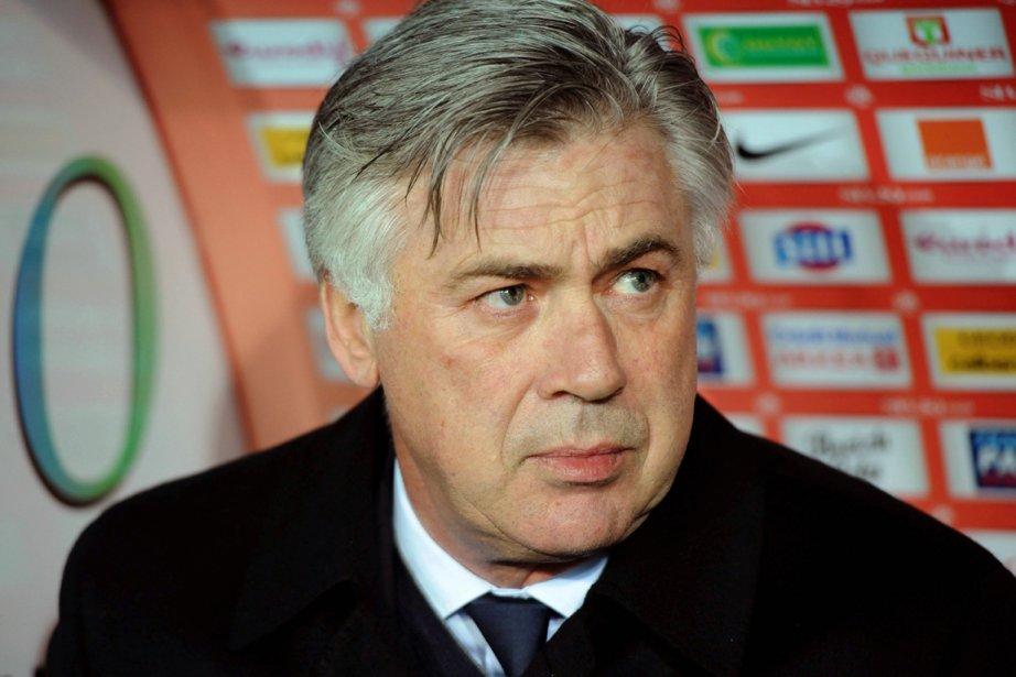 Carlo Ancelotti, l'entraîneur du Paris Saint-Germain.... (Photo : Thomas Bregardis, AFP)