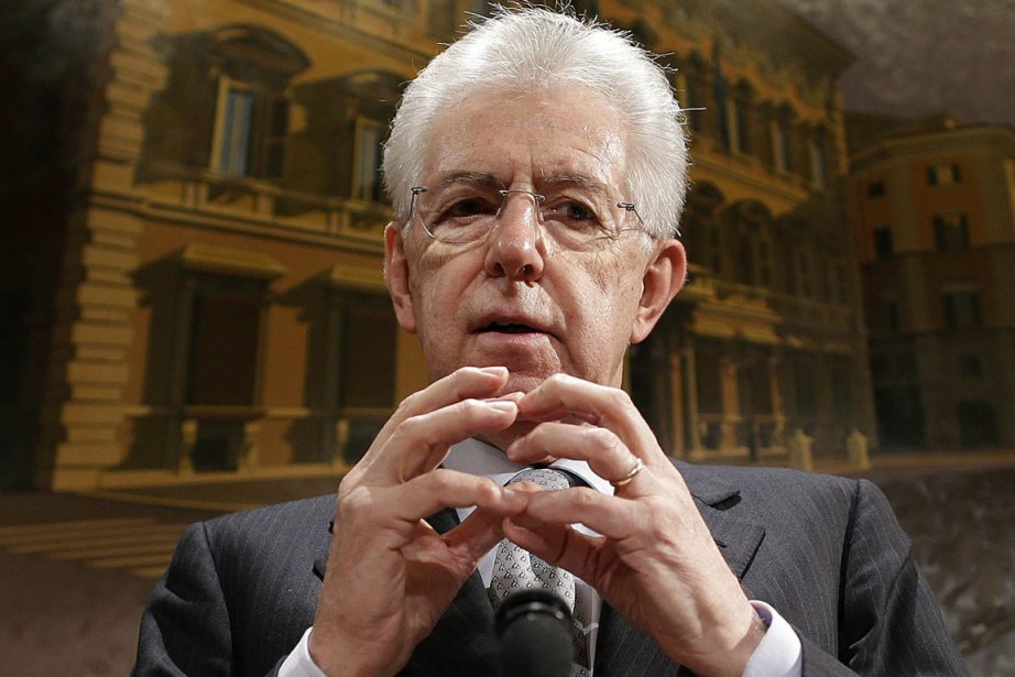 Mario Monti a accepté vendredi d'être le «chef... (Photo : Tony Gentile, Reuters)