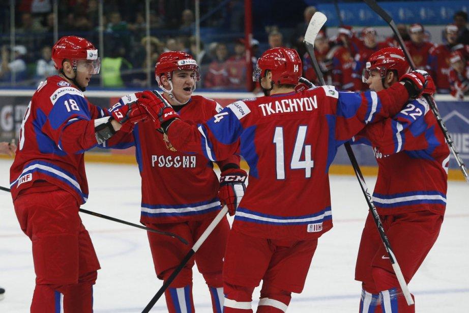 La Russie, qui domine le groupe B avec... (Photo : Mark Blinch, Reuters)