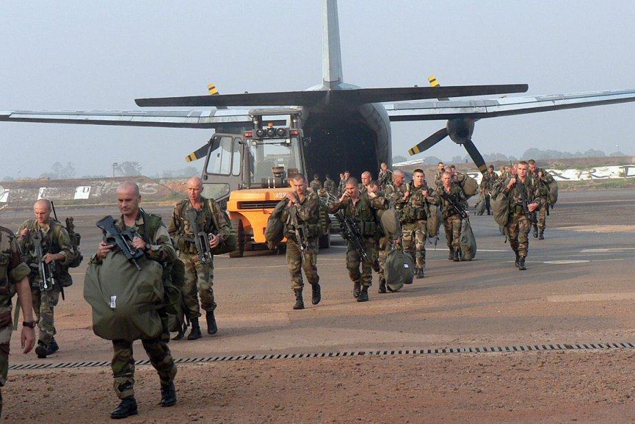 Le Congo a envoyé 120 soldats en Centrafrique... (Photo: AFP)
