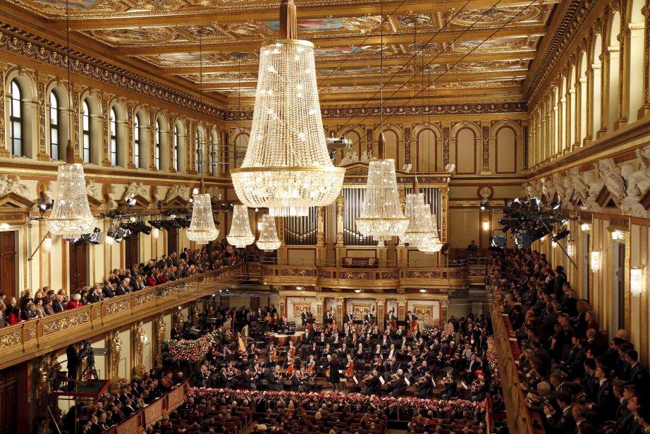 Le célèbre orchestre philharmonique de Vienne, en répétitions le 30 décembre, pour le traditionnel concert du Jour de l'An, qui sera diffusé dans plus de 80 pays. | 30 décembre 2012