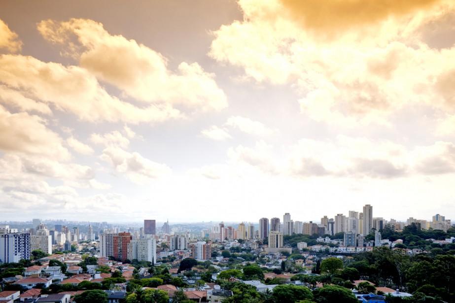 Sao Paulo, au Brésil.... (Photo archives)