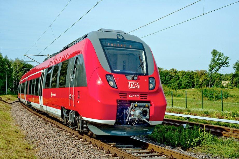 Le train Talent 2 de Bombardier.... (Photo: fournie par Bombardier)