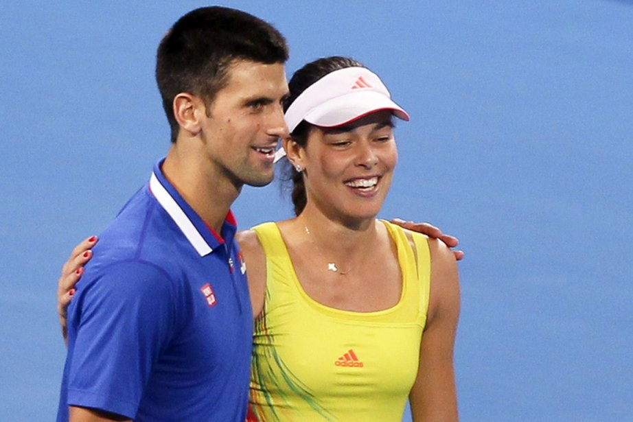 Les Serbes Novak Djokovic et Ana Ivanovic ont... (Photo : Tony Ashby, AFP)