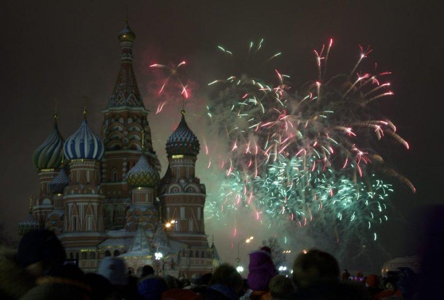 Moscou, Russie | 31 décembre 2012